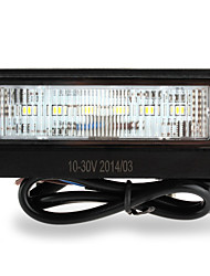 License Number Plate 6 Led Smd3528 Light Lamp White For Car Van Trailer Truck
