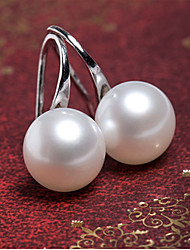 Stud Earrings Pearl Imitation Pearl Alloy Silver Golden Jewelry Party Daily Casual 1 pair