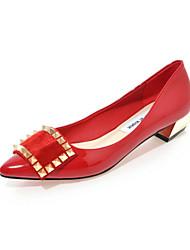 Women's Shoes Leatherette Wedge Heel Heels / Pointed Toe HeelsWedding / Outdoor / Office & Career