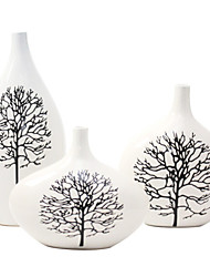 Modern Ceramic Craft Ornaments for Home Decoration 3pcs/set