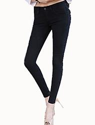Women's Show Thin Skinny Elasticity Jeans
