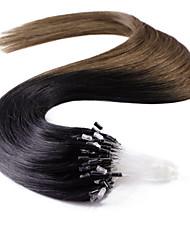 neitsi® 20inch micro anneau boucles extensions de cheveux humains sonne T1-6 de cheveux humains