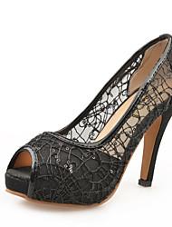 Da donna Sandali Innovativo Club Shoes Tulle PU (Poliuretano) Estate Autunno Matrimonio Formale Serata e festa Innovativo Club ShoesA