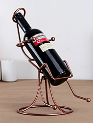 Rocking Chair Design Vintage Pure Iron Wine Rack