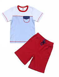 Ensemble de Vêtements Boy Manches Courtes Printemps Coton