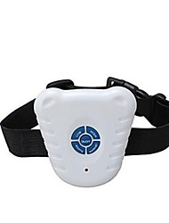 Dog Bark Collar Dog Training Collars Electronic/Electric Ultrasonic Solid White Plastic