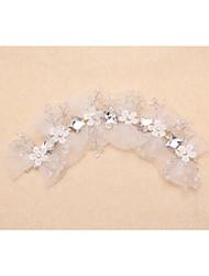Wedding Bridal Bride handmade Crystal Hair Band Headband Tiara