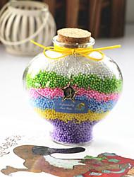 2pcs настольные статьи обеспечения подарок радуги персик сердца желая бутылка