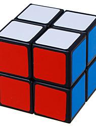 LanLan® Гладкая Speed Cube 2*2*2 Скорость Кубики-головоломки черный увядает / Кот ABS