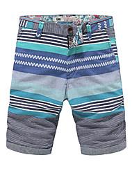 Men's casual pants pants men printed shorts beach pants slim pants five male Korean Summer Shorts Pants tide