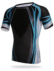 XINTOWN Ciclismo Blusas / Camiseta Homens Moto Respirável / Resistente Raios Ultravioleta / Secagem Rápida / Compressão / Materiais Leves