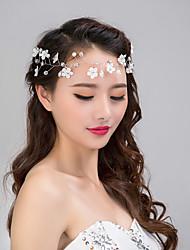 vrouwen kant bloem kristallen parel strass haarband voorhoofd haar sieraden voor bruiloft