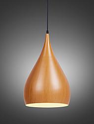 Max 60W Lampe suspendue ,  Rétro Peintures Fonctionnalité for Style mini MétalSalle de séjour / Chambre à coucher / Salle à manger /