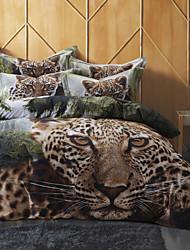 Tier Baumwolle 4 Stück Bettbezug-Sets