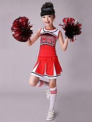 Accesorios(Rojo,Algodón / Espándex,Vestidos de Cheerleader) -Vestidos de Cheerleader- paraNiños Estampado/Patrón Representación