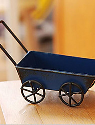 Retro garden cart resin furnishing articles Wrought iron small place