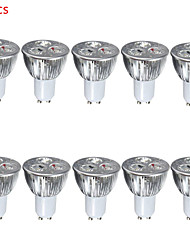 10pcs 6W GU10/E27 500LM Warm/Cool Light Lamp LED Spot Lights(85-265V)