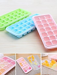 21 case of the shape of the ice cream mould popsicles cake mold ice lattice ice (random colar)