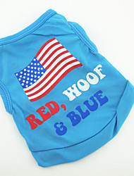 Comfortable Cool Color Pattern Pet T-Shirt