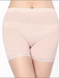 Burvogue Women's Sillicone Padded Enhancer Panties Butt Lifter Hip Seamless Panty