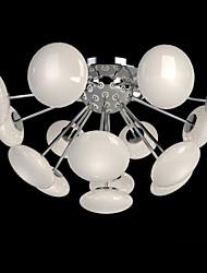 3W Montage du flux ,  Rustique Plaqué Fonctionnalité for LED / Style mini MétalSalle de séjour / Chambre à coucher / Salle à manger /