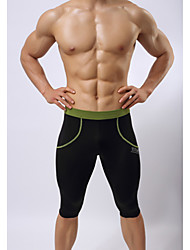 Men's Running Shorts High Breathability (>15,001g) Breathable Compression Pants/Trousers/Overtrousers 3/4 Tights Swimwear Bottoms for