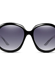 Sunglasses Women's Modern / Fashion Rectangle Bright Black Sunglasses Full-Rim