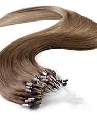 neitsi® 20inch micro anneau boucles extensions de cheveux humains sonne t6-10 de cheveux humains