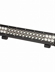 "KAWELL® 108W 17"" Spot and Flood Combo Beam Led Light Bar for ATV/Jeep/Boat/Suv/Truck/Car/Atvs"