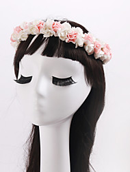 Women's / Flower Girl's Fabric Headpiece-Wedding / Special Occasion / Casual / Outdoor Wreaths 1 Piece