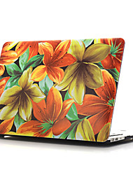 coquille plate dessin ~ 11 de style coloré pour macbook air 11 '' / 13 ''