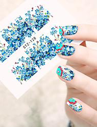 Панк-3D наклейки на ногти / Стразы для ногтей-Пальцы рук-70mm*65mm-1pcs-ПВХ