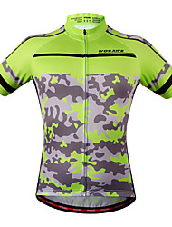 WOSAWE New Cycling Clothing Camouflage Clothes Women Men Cycling Jersey Jacket Top Bicycle Bike Cycling Shirt