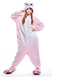 Kigurumi Pajamas New Cosplay® / Mouse Leotard/Onesie Halloween Animal Sleepwear Pink Patchwork Polar Fleece Kigurumi UnisexHalloween /
