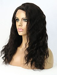 "8""-24"" Human Hair Wavy Glueless Lace Front Wig /Full Lace Wig For Women"