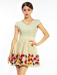 Women's Personality Embroidery Summer Dress