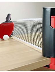 retrátil ténis de mesa portátil de substituição cremalheira net esporte kit pingpong