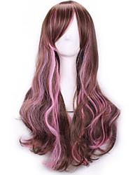 Cos The Wig Color Gradient Japan Original SuFeng Ice Cream Color Curly Hair Wig