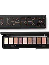 10Colors Eyeshadow Matte Eyeshadow palette Powder Normal Daily Makeup