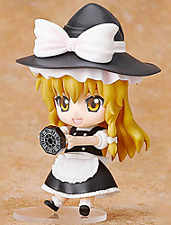 TouHou Project Marisa Kirisame 10CM Anime Action Figures Model Toys Doll Toy