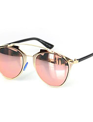 Sunglasses Women's Modern / Fashion Cat-eye Black / Silver / Gold Sunglasses Full-Rim