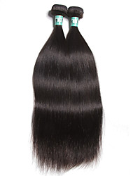 "1 Pc /Lot 12""-30""Malaysian Virgin Hair Straight Human Hair Wefts 100% Unprocessed Malaysian Remy Hair Weaves"