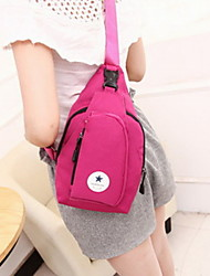 Fashion Unisex Canvas / Polyester Sports / Casual / Outdoor Shoulder Bag Chest Pack-Multi-color