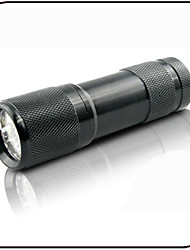 Lights LED Flashlights/Torch LED 100 Lumens 1 Mode - AAA Ultraviolet Light / Counterfeit Detector Everyday Use Aluminum alloy