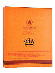 Guerisson Wet Moisture/Whitening/Anti-wrinkle/Freckle Cloth 6Pcs Mask