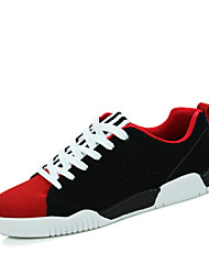 Four Season Hot Sale Men's High Quality Leather Upper Lace-up Skateboarding Shoes in Casual Style for Jogging