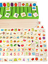 Early Childhood Toys For Children To Learn The Shape Classification Of Children's Wooden Toys Wooden Box Puzzle Matching
