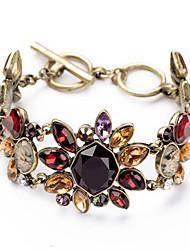 Vintage European Fashion Alloy Luxurious Link Bracelet 1pc