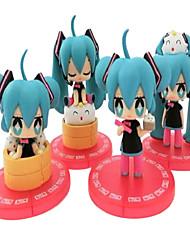 Vocaloid Hatsune Miku 8-10CM Anime Action-Figuren Modell Spielzeug Puppe Spielzeug