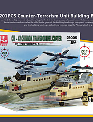 201pcs Models & Building Toy Miniature Plastic Diorama Model Aircraft Plane Model Toys For Children